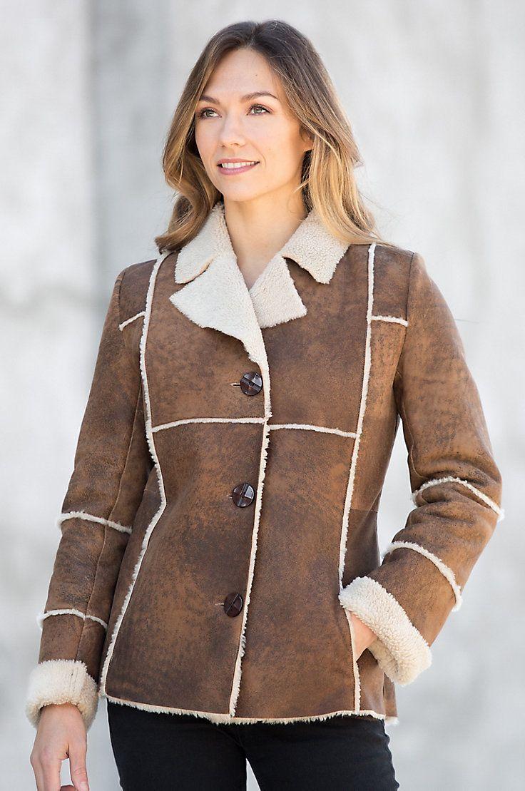 51 best Sheepskin Coats images on Pinterest | Spanish, Sheepskin ...