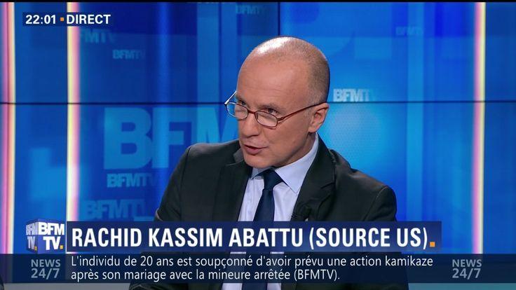 Dominique Rizet, spécialiste police-justice BFMTV, est revenu sur le profil de Rachid Kassim. Le recruteur francophone pour le compte de Daesh, lié à de nombreuses opérations terroristes, aurait été tué par la coalition. Il aurait été frappé par un drone américain dans la région de Mossoul, capitale irakienne de l'organisation terroriste, actuellement assiégée par les troupes de Bagdad et leurs alliés. - Week-end Direct, du vendredi 10 février 2017, présenté par François Gapihan, sur BFMT...