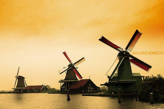 Zaanse Schans - Windmill - Amsterdam