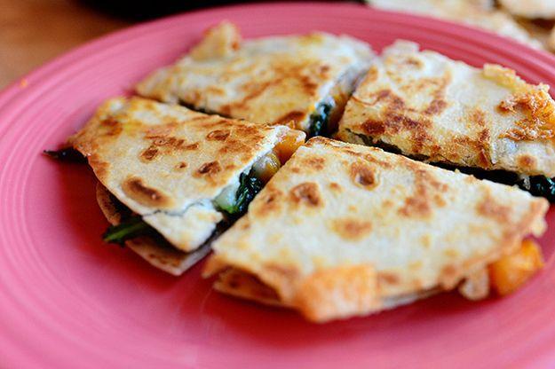 ... Amp, Cooking Butternut, Squash Kale, 31 Delicious, Kale Quesadillas