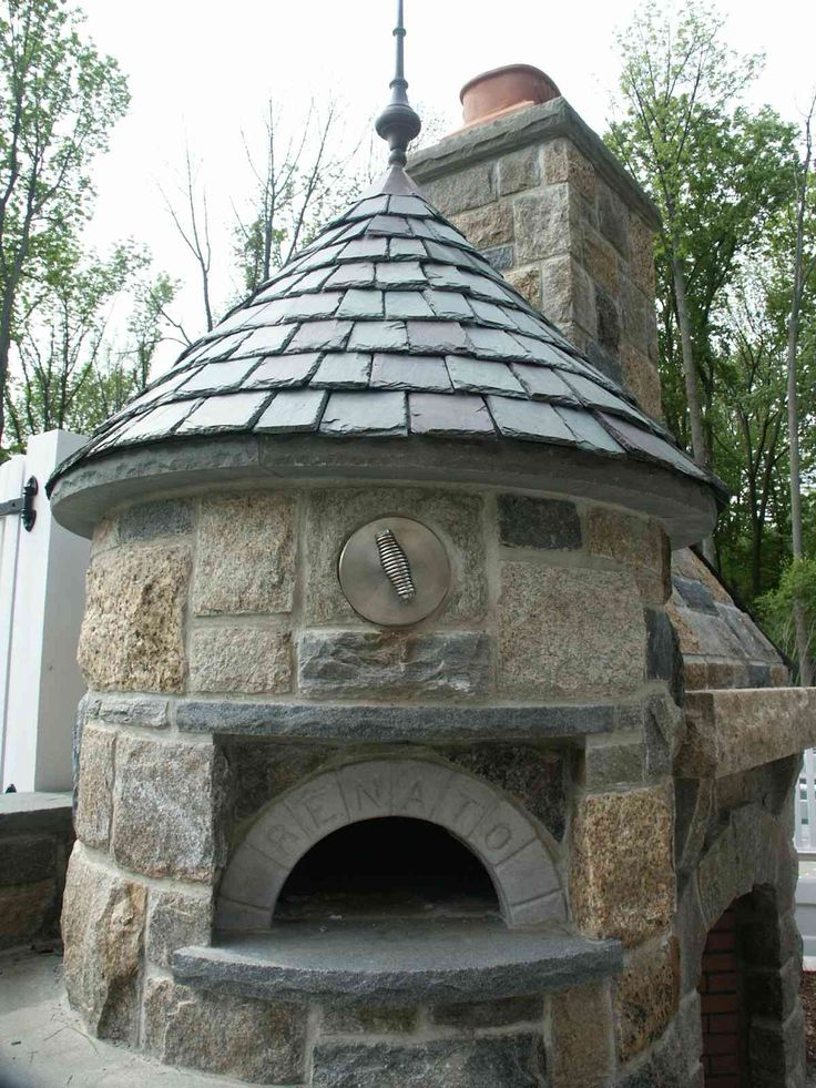 Wood burning-Pizza Oven