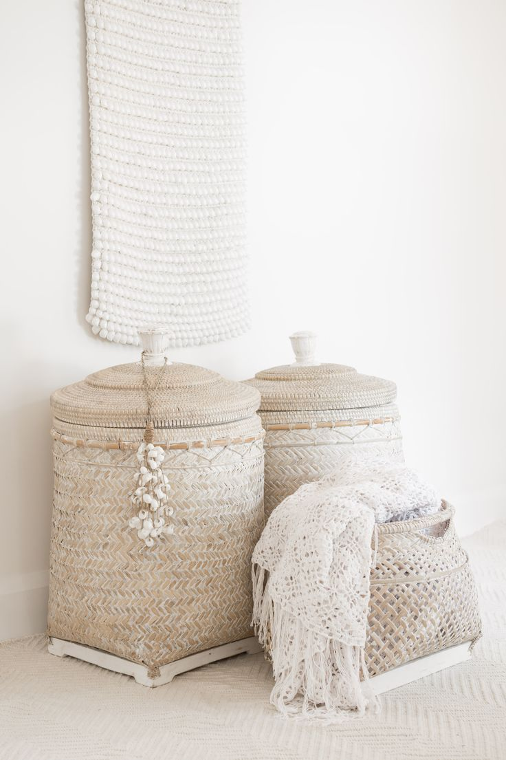pinned by barefootstyling.com ☆ losari.com.au ...baskets and blankets