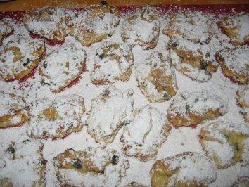 Quarkstollen-Kekse - Rezept