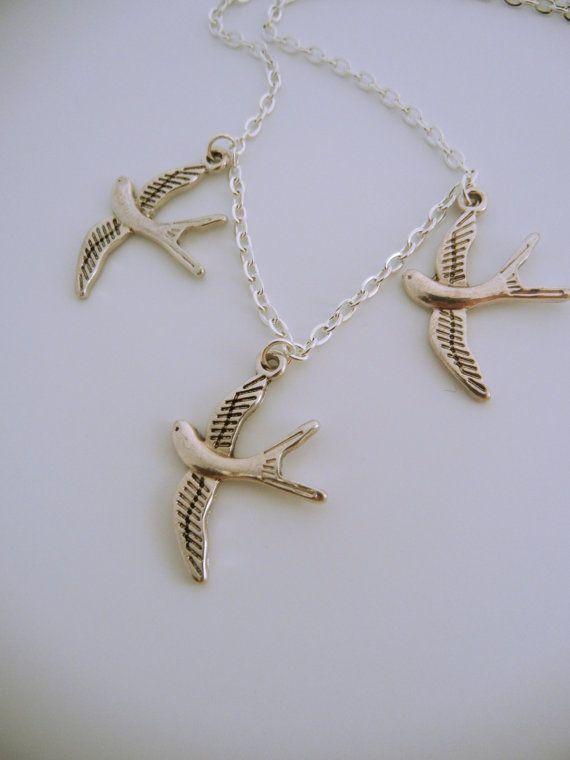 divergent bird tattoo necklace - 570×760