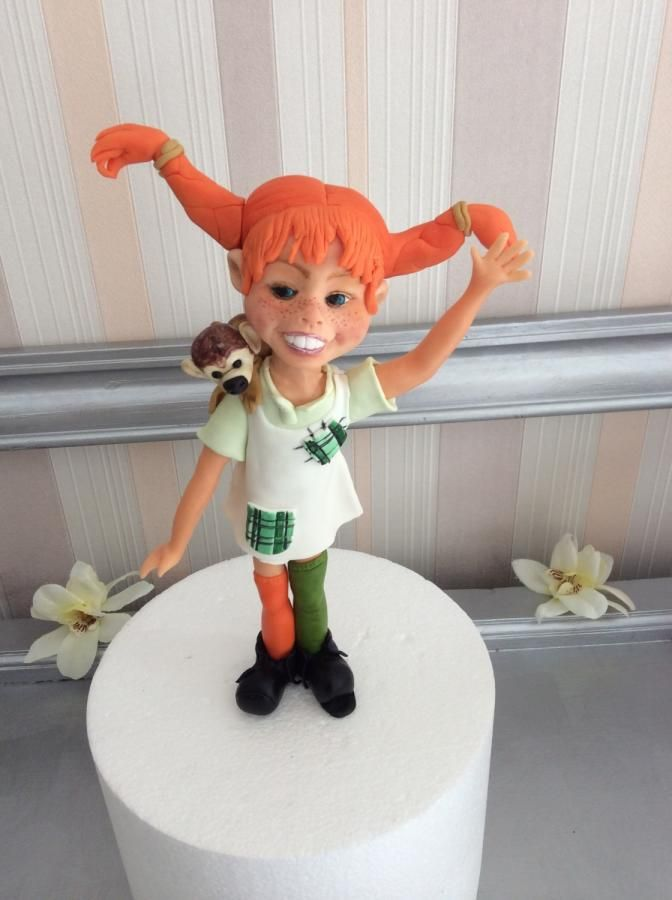 Pippi Longstocking - Cake by Ana Lucia Pereira