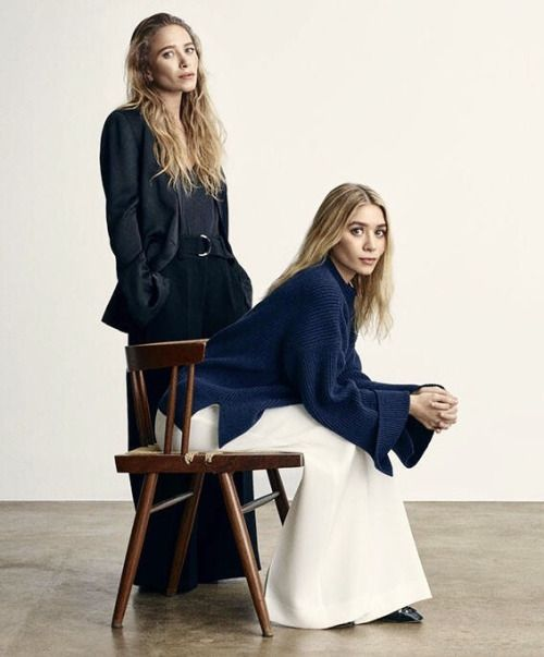 Mary-Kate and Ashley for The Edit, March 2017