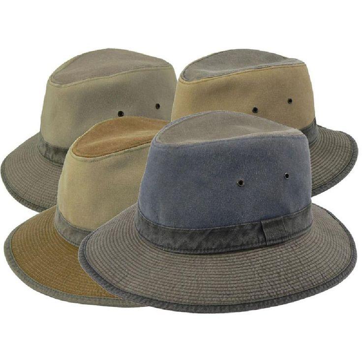 Sombrero safari Crambes colores