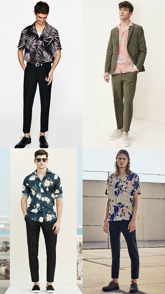 Spring and Summer Trends How To Wear A Tropical Shirt