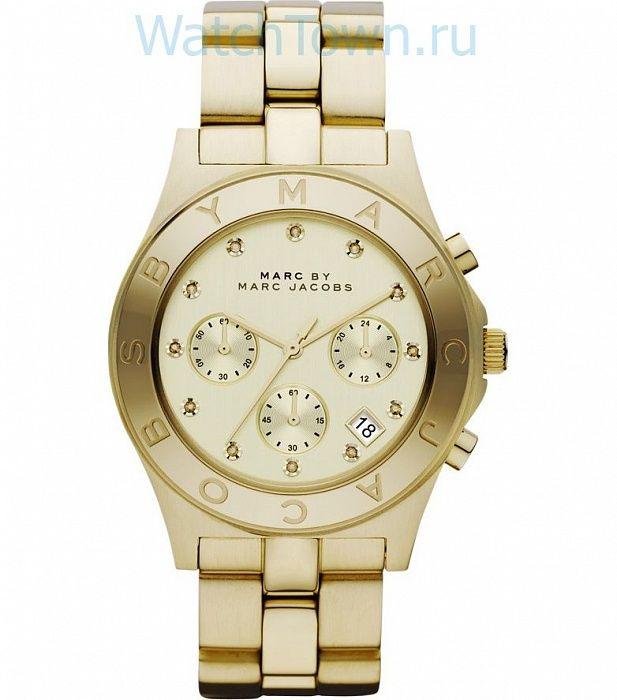 Женские наручные часы MARC JACOBS MBM3101 в Москве. Купить американские часы MARC JACOBS MBM3101 (кварцевые) в интернет-магазине