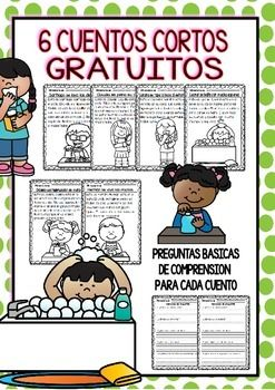 Easy-Reading-for-Reading-Comprehension-in-Spanish-spec-edit-Hygine-FREE-2129975 Teaching Resources - TeachersPayTeachers.com