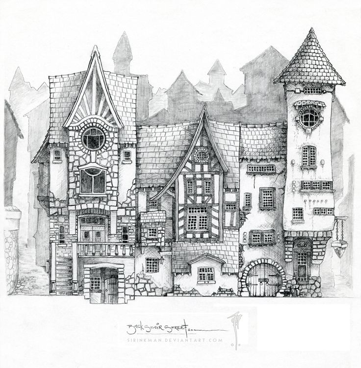 17 meilleures images propos de dessin d 39 architecture sur for Dessin architecture