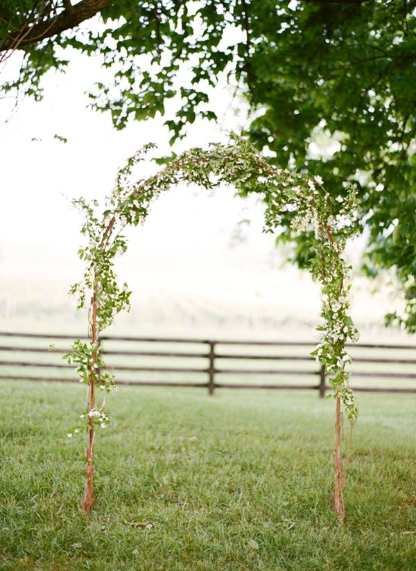 Simple+Outdoor+Wedding+Ideas | Elegant Springtime Wedding Ideas %%ow_categoryName%% - Once Wed