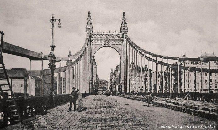 Erzsébet híd 1903