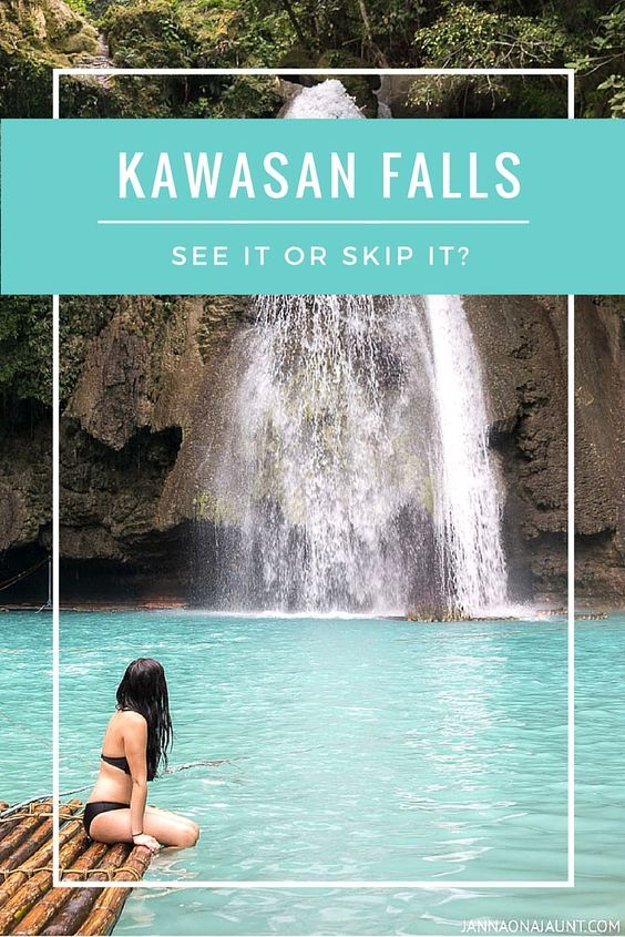 A few hours outside of Cebu City, Philippines lies a beautiful waterfall called Kawasan Falls. Hidden gem or tourist trap? You be the judge.  http://jannaonajaunt.com