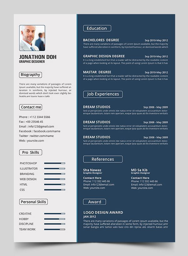 resume templates and resume examples download resume pinterest