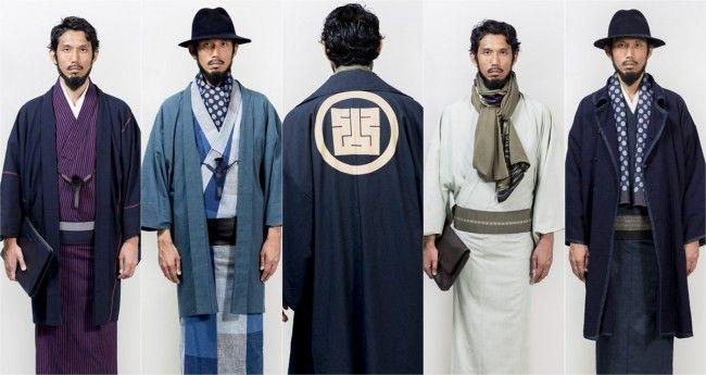 遊び心ありこれはアツい!メンズ着物「Y.& SONS」初の秋冬コレクションを紹介 – Japaaan 日本の文化と今をつなぐ