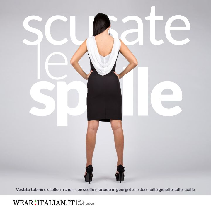 Scusate le Spalle #madeinitaly