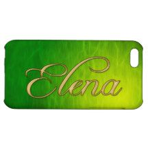 ELENA Name Branded iPhone Cover Case For iPhone 5C