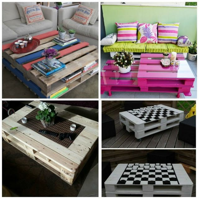 Coffee pallet tables 47 inspiring ideas
