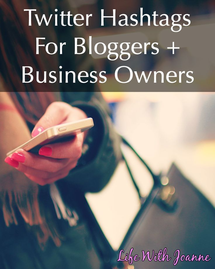 Twitter hashtags for #bloggers and #business owners. Learn how to use them and a list of popular hashtags.