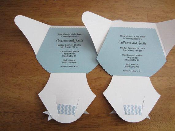 74fd0e30e115ec78ef39776a5669f5ee--chevron-ribbon-handmade-baby Baby Diaper Baby Shower Invitations