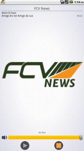 Baixe agora o aplicativo da FCV News e ouça as melhores músicas, fique também por dentro das últimas notícias.<p>FCV News, um novo canal de entretenimento!