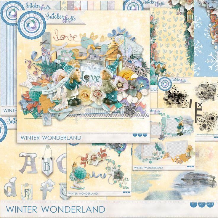 Digital Art :: Bundled Deals :: Winter Wonderland Collection by SnickerdoodleDesigns