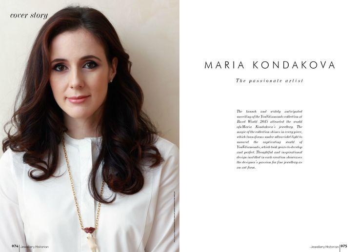 Maria Kondakova portrait