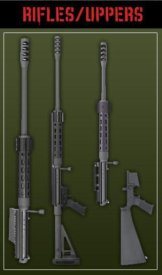 SHTF .50 BMG mag fed, bolt-action AR upper
