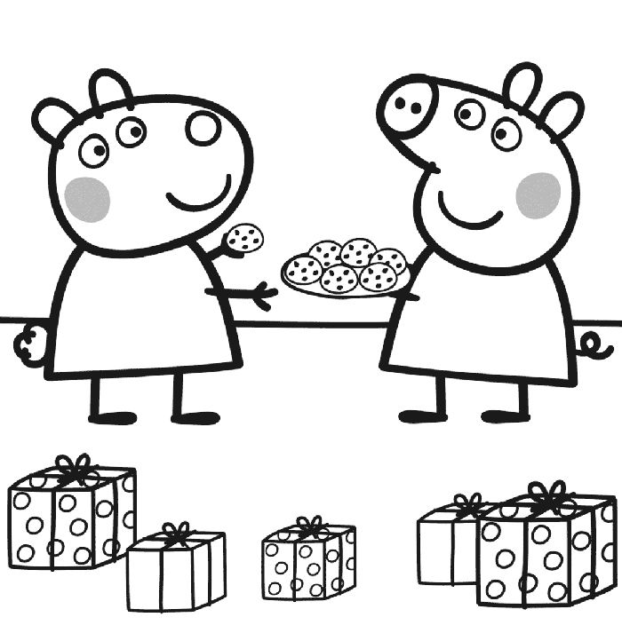 Dibujos De Peppa Pig Para Imprimir Y Colorear Gratis Peppa