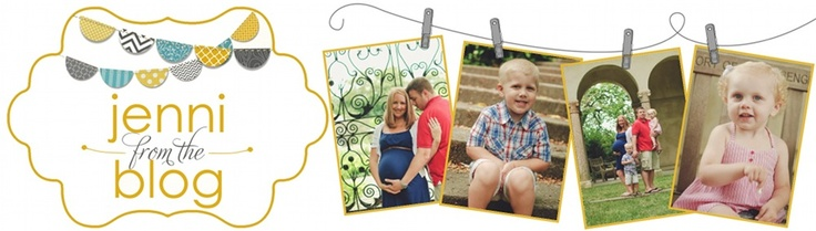 cute layout: jenni from the blog