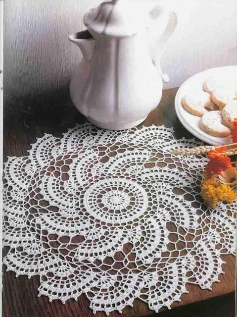 Serwety 3 - danuta Zawadzka - Picasa Web Albums...An entire book of beautiful crochet ,like this doily. I know there are diagram patterns;and there are patterns written in English. These are down-loadable!! CHECK OUT!!