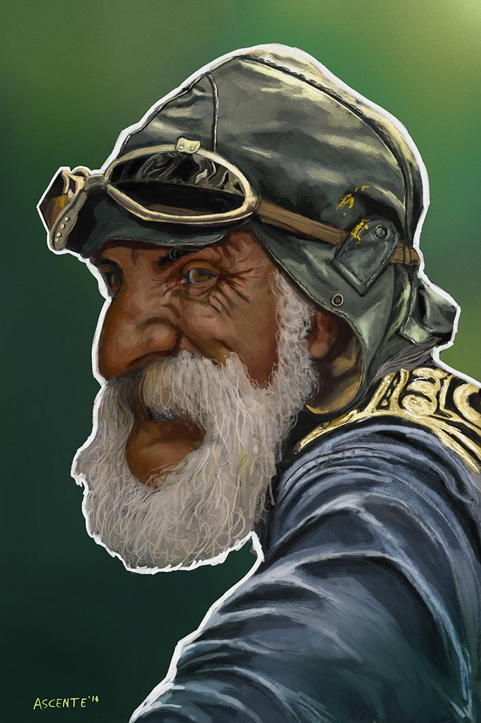 Old Aviator by Matteo Ascente
