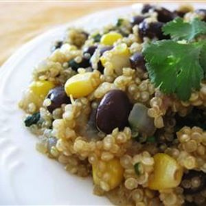 Quinoa and black bean dinner recipe & 2 other simple & healthy dinner recipes