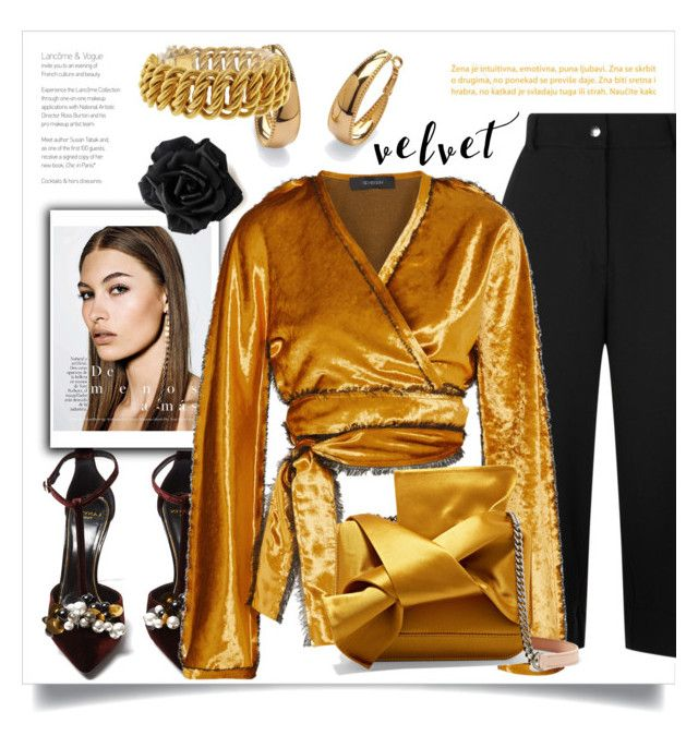 """""""Untitled #797"""" by metka-belina on Polyvore featuring Public School, Lanvin, Sid Neigum, Palm Beach Jewelry, Buccellati and N°21"""