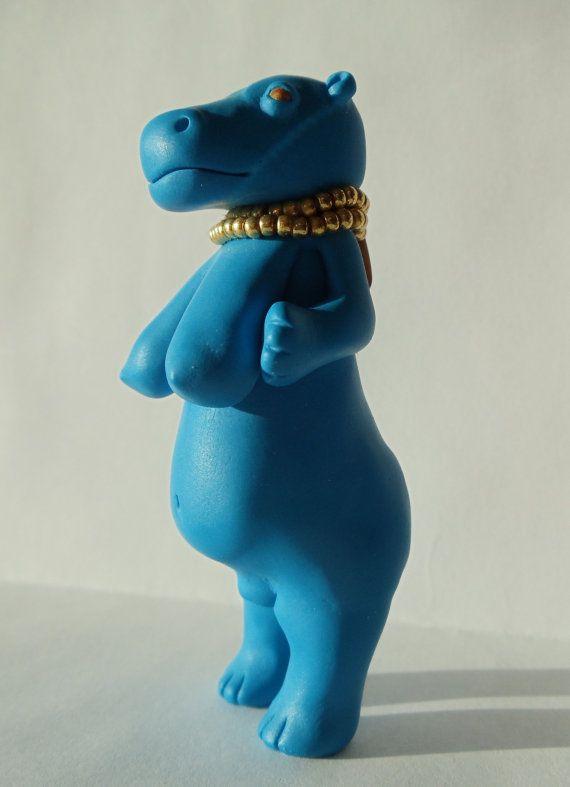 Egyptian fertility childbirth goddess Tawaret hippopotamus ...