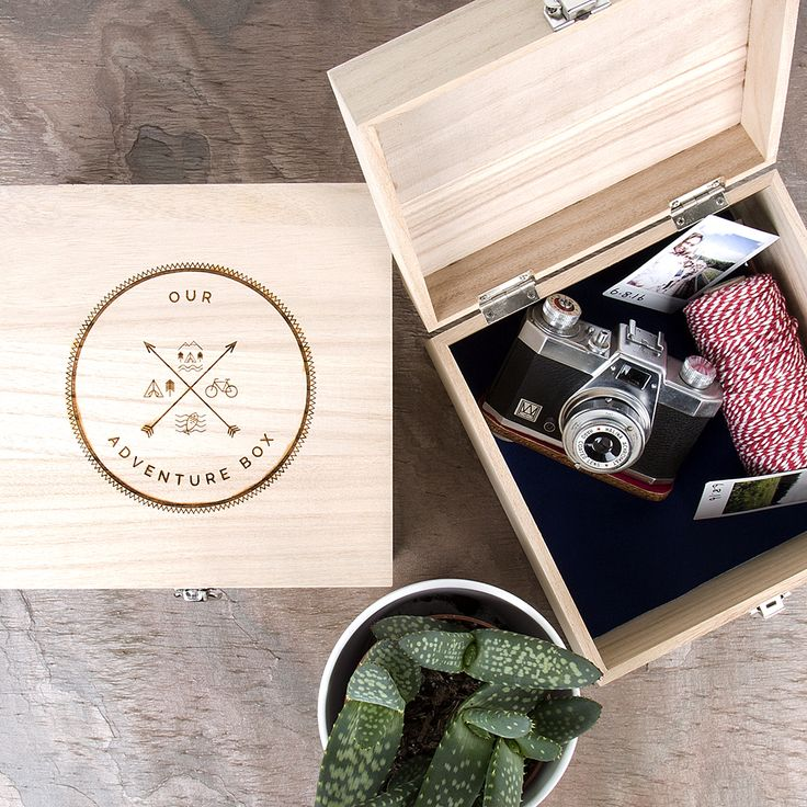 Our stylish Personalised Memory Box is the ideal gift for keeping all of your treasured keepsakes safe and reminding you of all of your adventures.