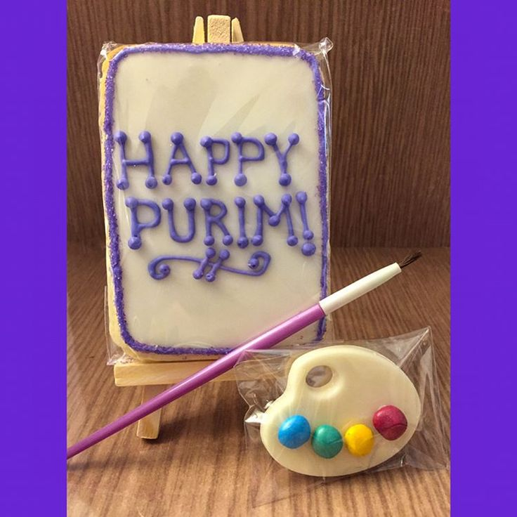 Happy Purim from Toronto, ! French artist theme (Swipe for more)  #Purim #mishloachmanos #toronto #kosher #kosherkreative #artist