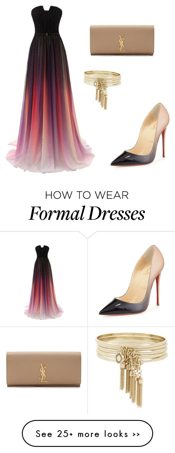 """""""Charity ball"""" by rashadmarquis on Polyvore"""
