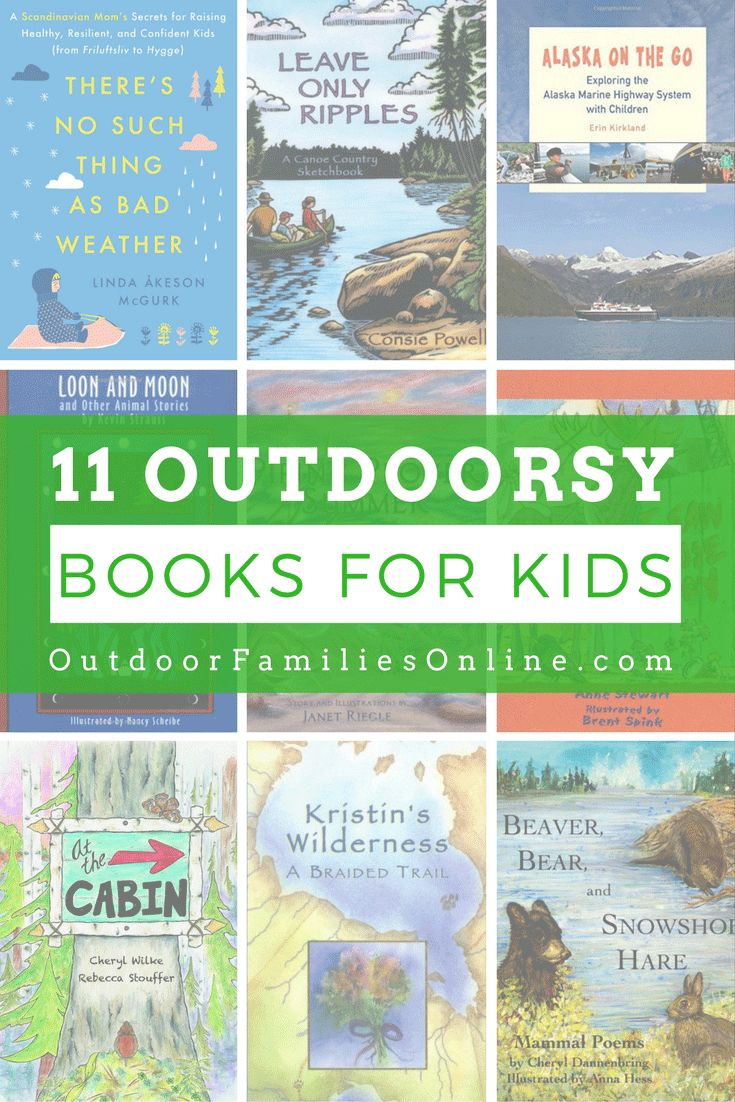 A List Of Nature Books For Kids And Adults Meant To Inspire The Next