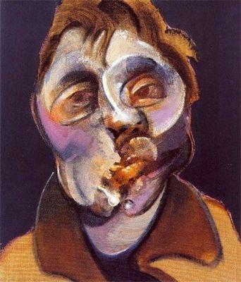 Francis Bacon (1909-1992) - Autoportrait (1969)