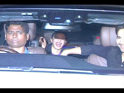 Varun Dhawan & Jacqueline Fernandez at success party of RUSTOM movie.