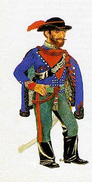 EUROPEAN WARS OF INSURRECTION 1830-50: Hungarian Army 1848-49