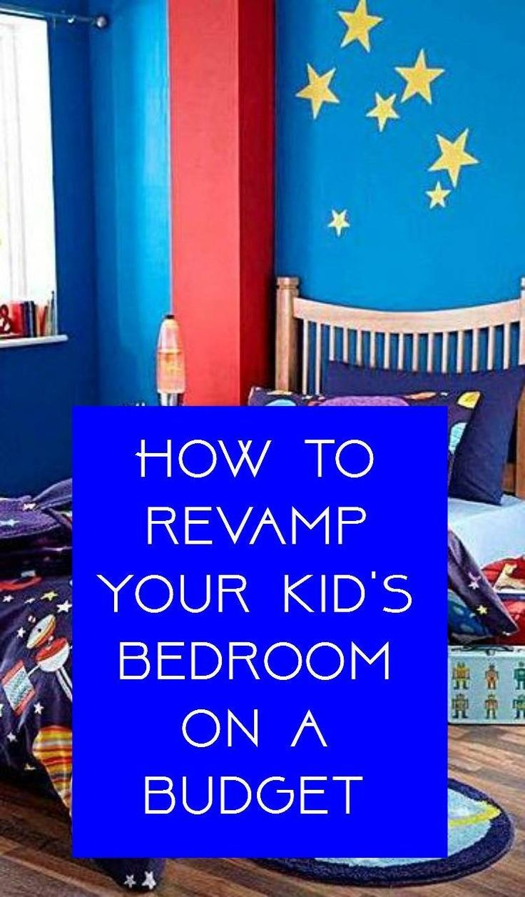 Revamping Your Kid's Bedrooms on a Budget  Thrifty bedroom makeover ideas for a child's bedroom. Interior design on a shoestring.