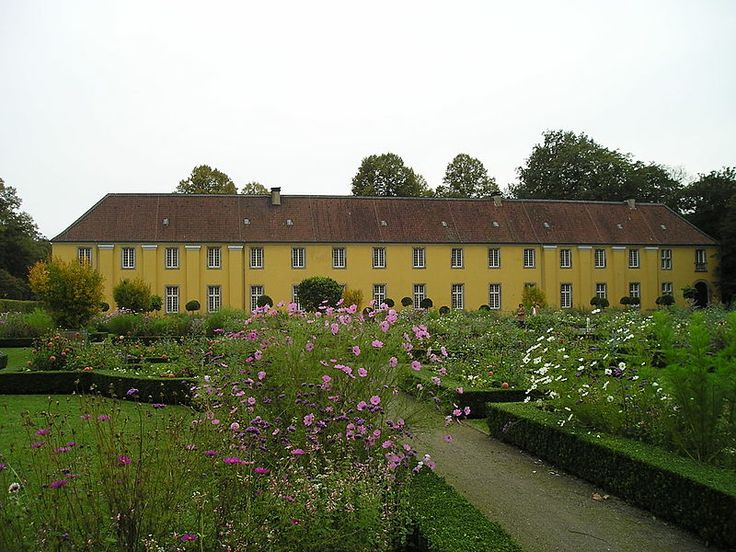 Orangerie in Düsseldorf-Benrath palace