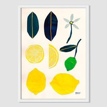 Mizuki Goto Print - Lemon #westelm
