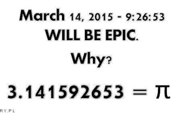 Yes an epic day it will be