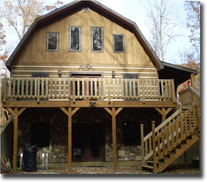 Gambrel Roof With Porch Shed Joy Studio Design Gallery