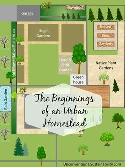 The Beginnings of an Urban Homestead - An intro to why and how I am planning to create an urban homestead on 7,000 square feet