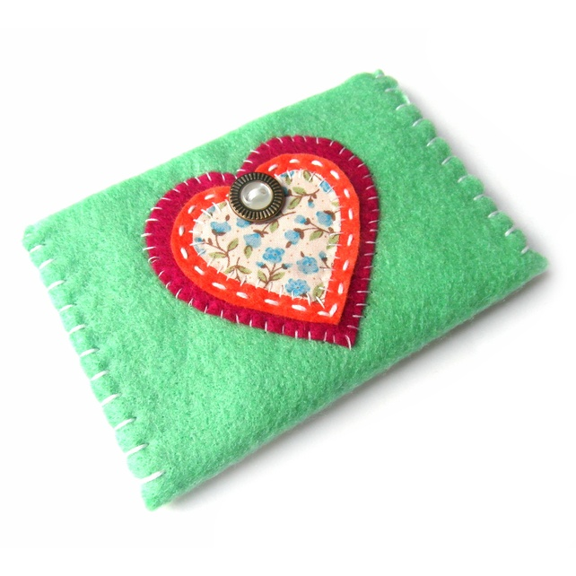 Card Holder - Business Cards - Heart £6.50